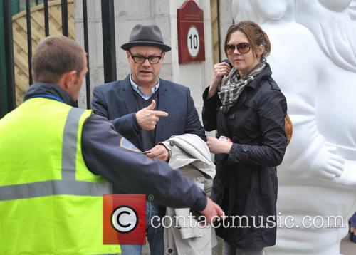 Jack Dee and Wife Jane 5
