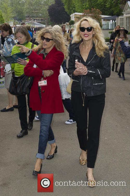 Suzanne Wyman and Jerry Hall 2