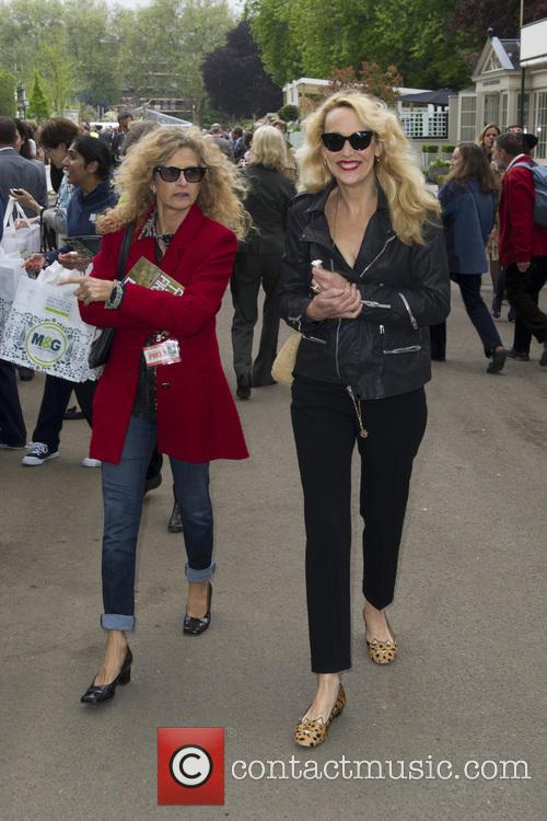 Suzanne Wyman and Jerry Hall 3