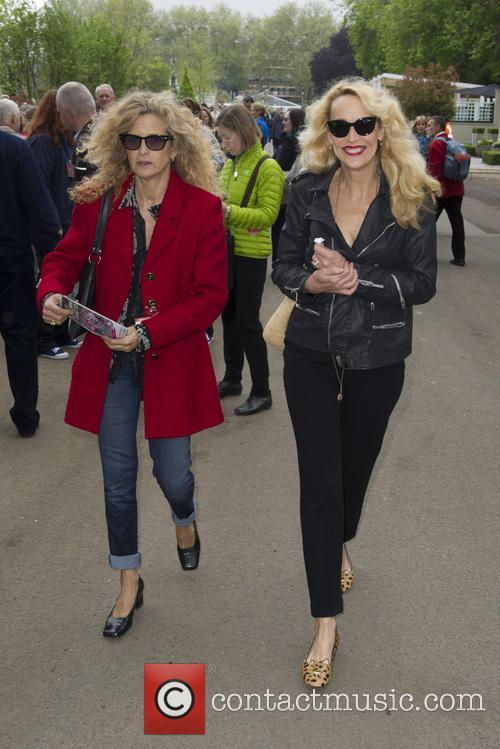 Suzanne Wyman and Jerry Hall 4