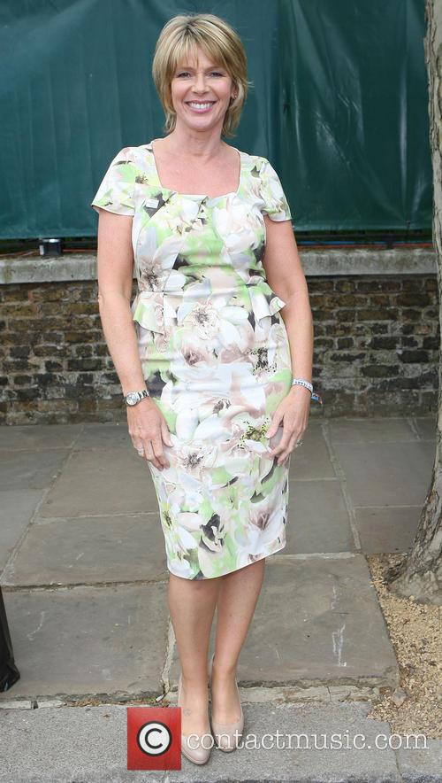 ruth langsford celebrities leaving the chelsea flower 3676316