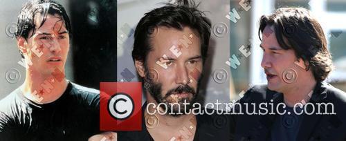 Keanu Reeves' fuller face