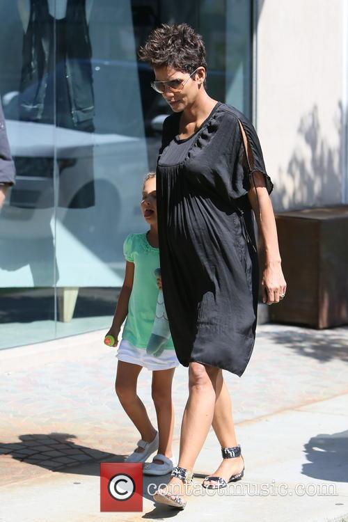 Halle Berry and Nahla Aubry 6