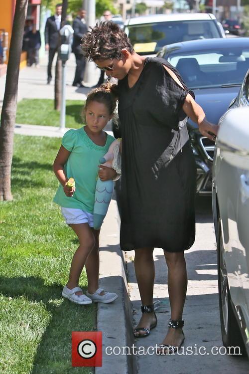 Halle Berry and Nahla Aubry 11