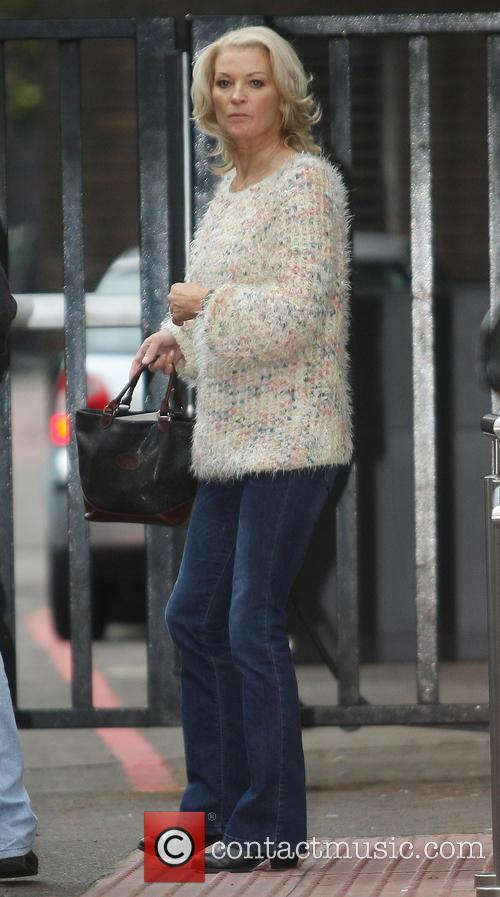 gillian taylforth celebrities outside the itv studios 3675305
