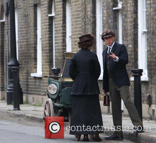 Mr Selfridge film set