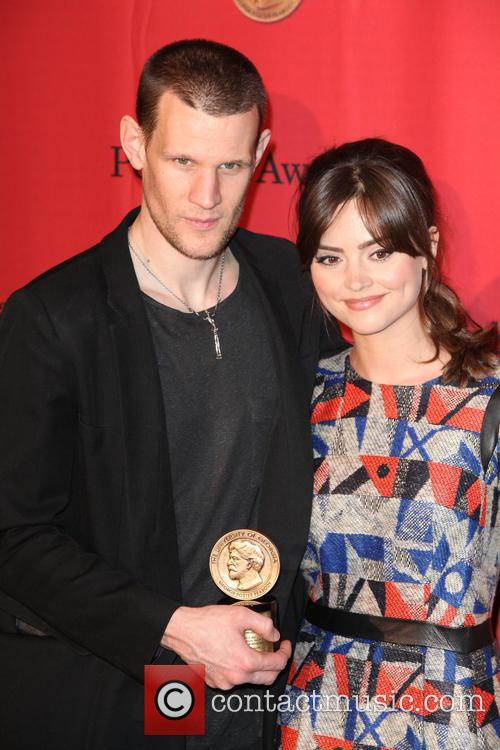 Matt Smith and Jenna Louise Coleman