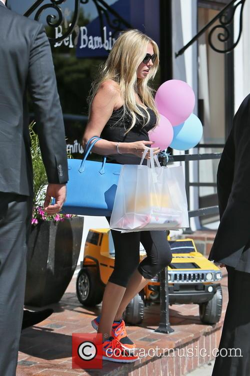 Petra Ecclestone and husband shopping