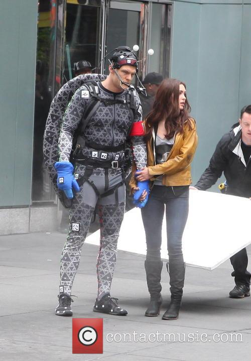 Alan Ritchson and Megan Fox