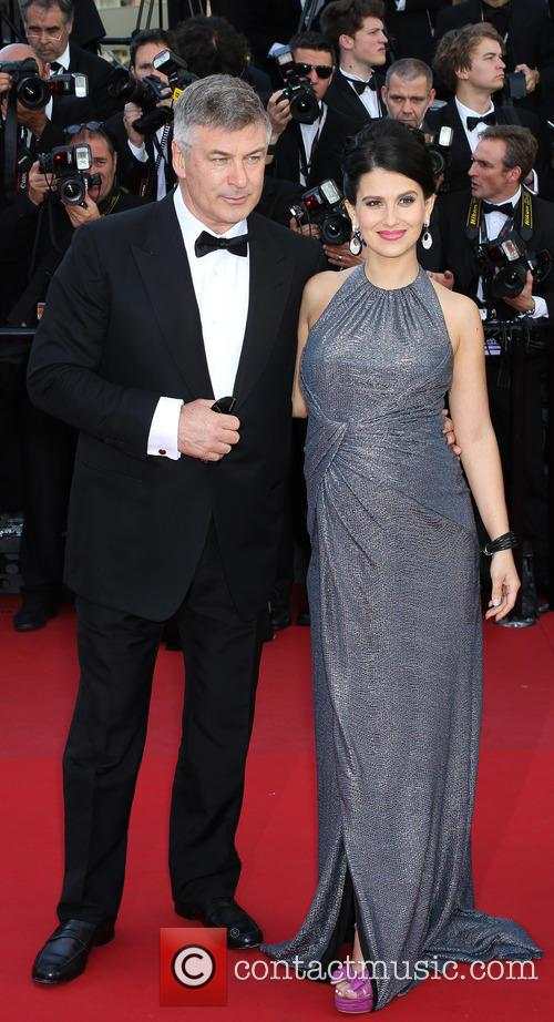 Hilaria Thomas and Alec Baldwin 1