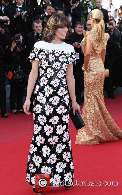Milla Jovovich, uk, Cannes Film Festival