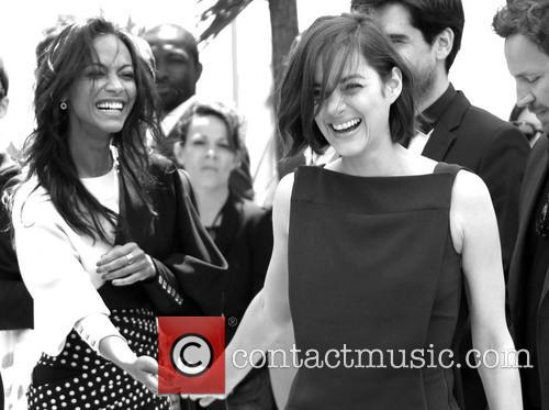 Marion Cotillard and Zoe Saldana 8