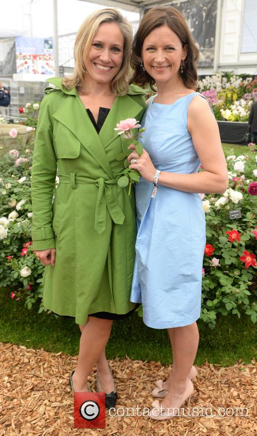 Katie Derham and Sophie Rayworth