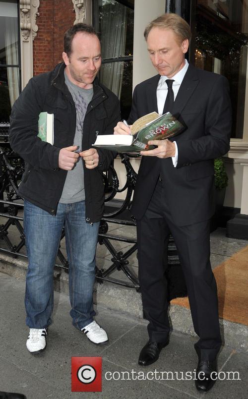Dan Brown In Dublin