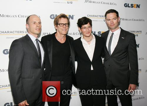 Jonathan Ducrest, Kevin Bacon, Dr. Eliza Byard and Ryan Pedlow 1