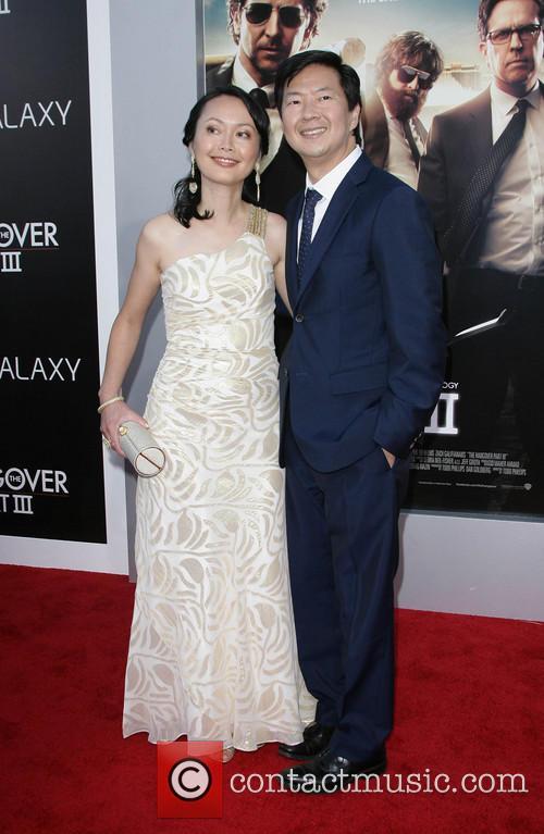 Ken Jeong and Wife Tran Jeong