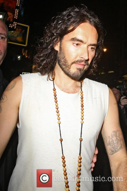 Russell Brand At The Lyric Theatre
