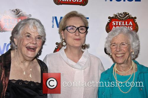 Louis Smith, Meryl Streep and Frances Sternhagen 2