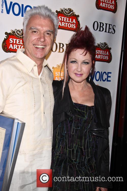 David Byrne and Cyndi Lauper 6