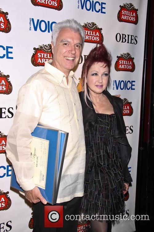 David Byrne and Cyndi Lauper 1