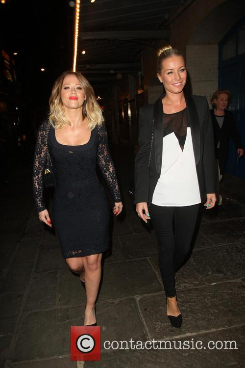 Kimberley Walsh and Denise Van Outen 8