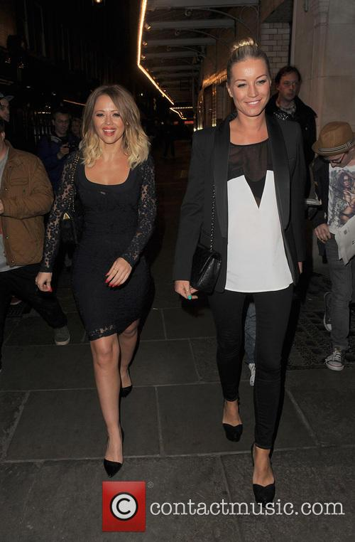 Kimberley Walsh and Denise Van Outen 10