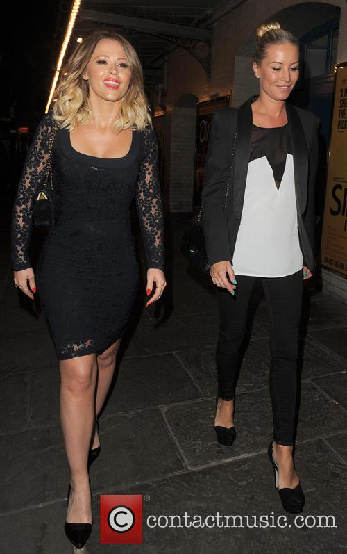 Kimberley Walsh and Denise Van Outen 11