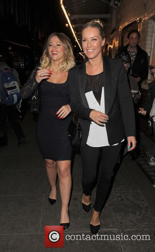 Kimberley Walsh and Denise Van Outen 6