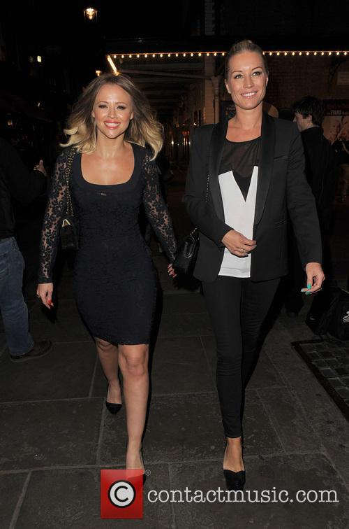 Kimberley Walsh and Denise Van Outen 7