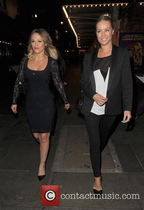 Kimberley Walsh and Denise Van Outen 12