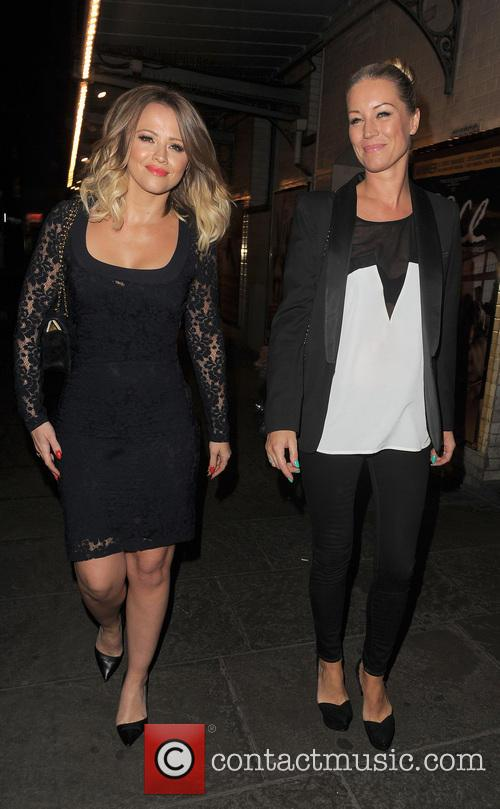 Kimberley Walsh and Denise Van Outen 13