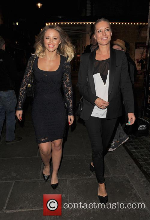Kimberley Walsh and Denise Van Outen 14