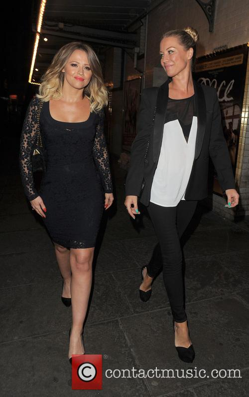 Kimberley Walsh and Denise Van Outen 16