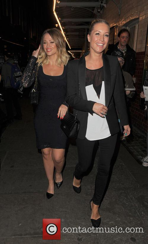 Kimberley Walsh and Denise Van Outen 18