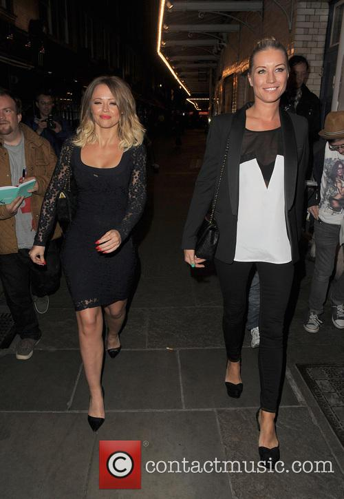 Kimberley Walsh and Denise Van Outen 19