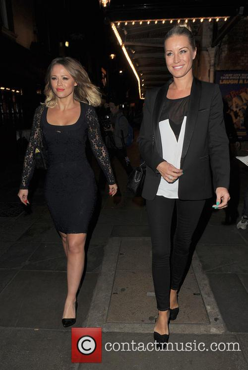 Kimberley Walsh and Denise Van Outen 1
