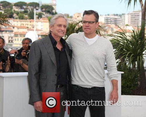 Michael Douglas and Matt Damon 29