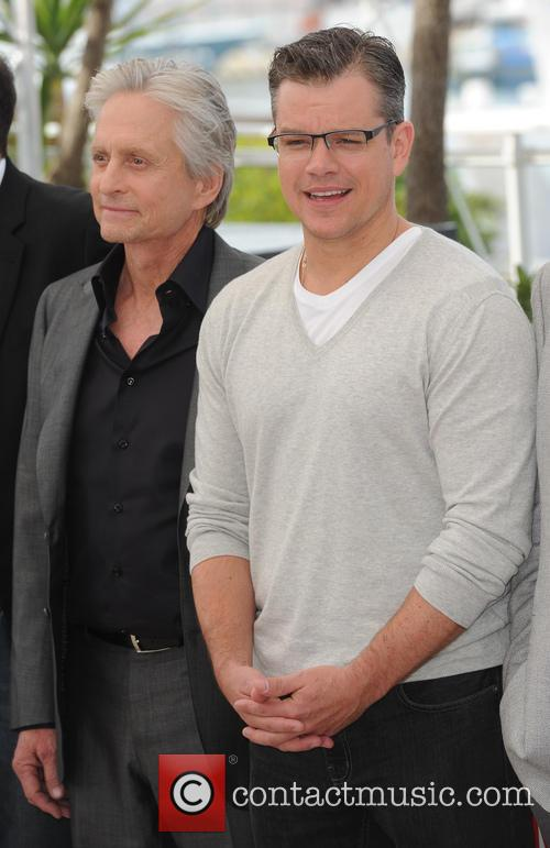 Michael Douglas and Matt Damon 10