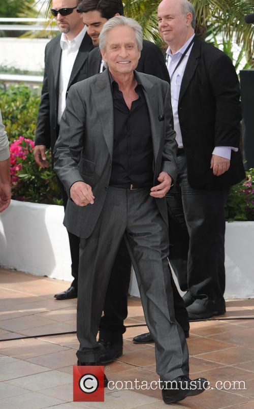 Michael Douglas and Matt Damon 12