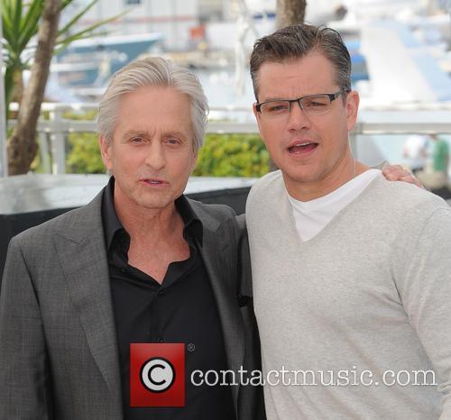 Michael Douglas and Matt Damon 20