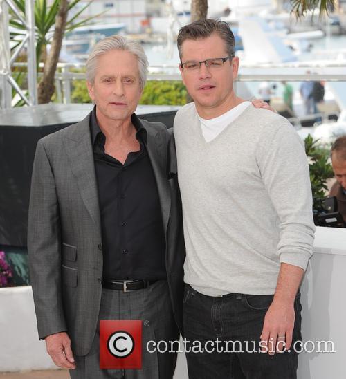 Michael Douglas and Matt Damon 21