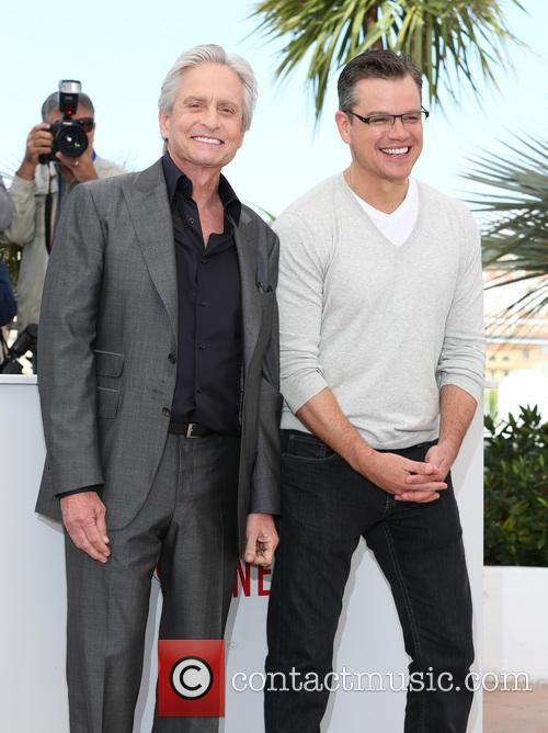 Michael Douglas and Matt Damon 1