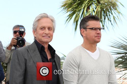 Michael Douglas and Matt Damon 25