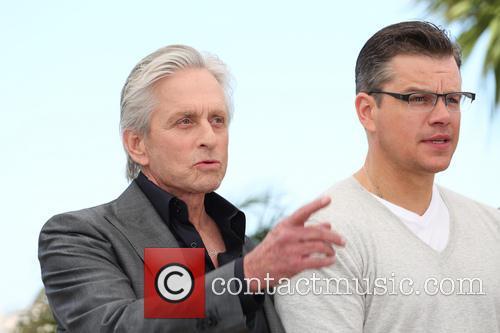 Michael Douglas and Matt Damon 27