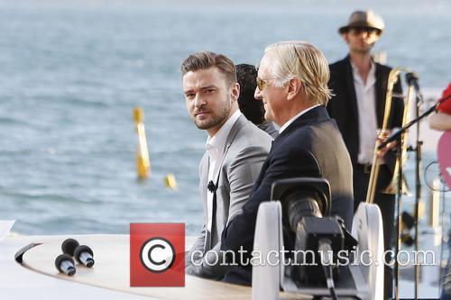 Justin Timberlake and T-bone Burnett 2