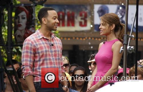 John Legend and Maria Menounos 6