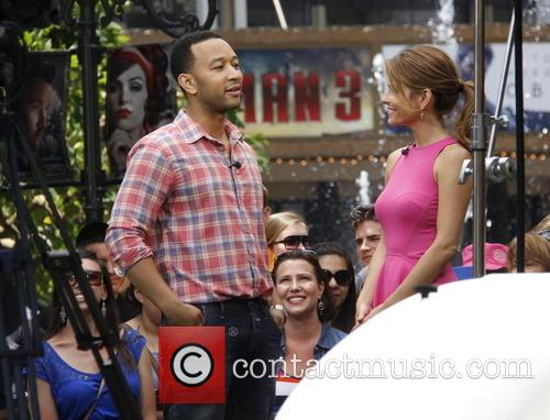 John Legend and Maria Menounos 9