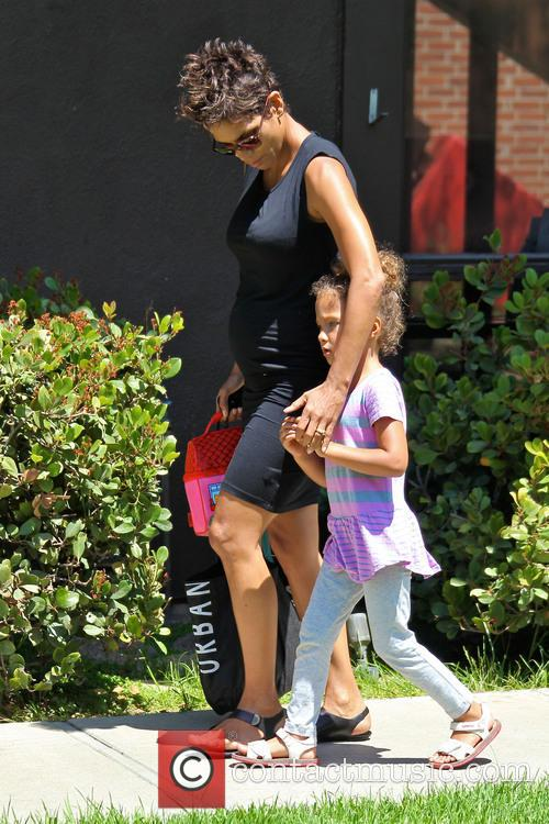 Halle Berry and Nahla Aubry 10