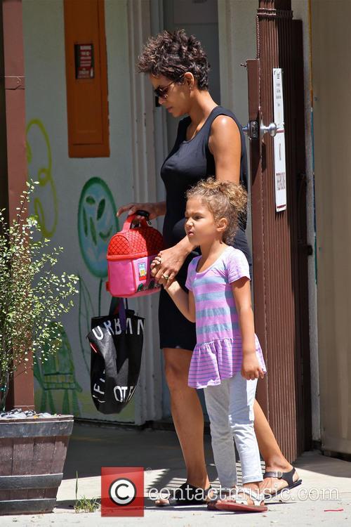 Halle Berry and Nahla Aubry 13