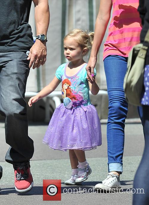 Mark Wahlberg and Grace Margaret Wahlberg 2